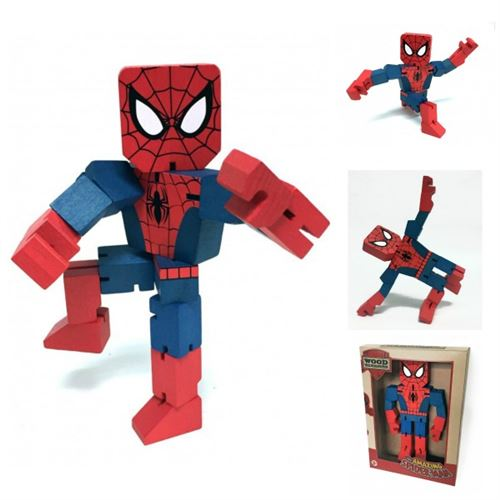 PPW Toys Spider-Man Wood Warriors 8 Action Figure