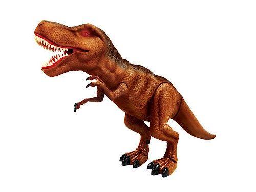 Dinosaure t-rex - 28 cm de haut - dino - tyrannosauru electronique avec sons et lumiere - figurine