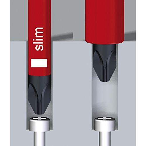 Wiha Pack de démarrage slimVario avec embouts slimBits courants dans une pochett