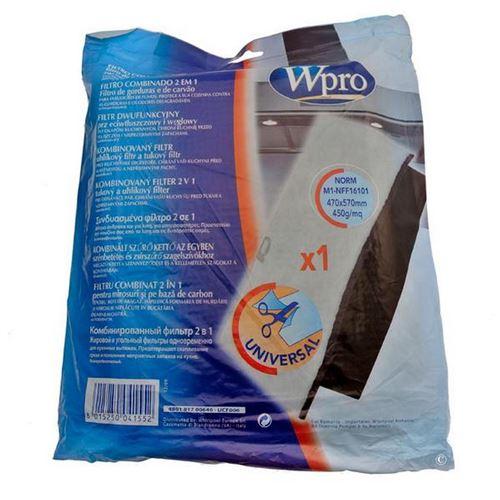 Filtre mousse anti-graisses et odeurs FCH009 Hotte 484000008524 WPRO - 61794