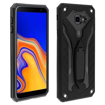 Coque Samsung Galaxy J4 Plus Protection Hybride Série Phantom by Forcell noir