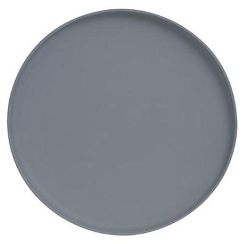 Lot de 6 Assiettes Plates Design Fab 25cm Gris