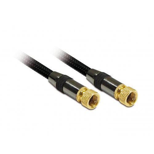 Prolongateur d'antenne METRONIC 419010 M/M 1,5m Noir