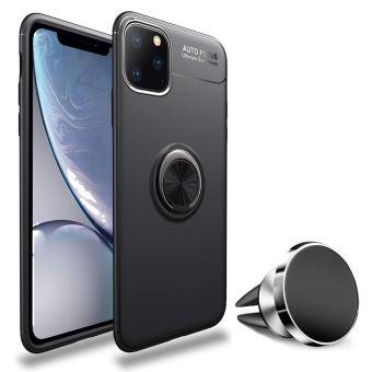 Pack Coque magnetique aimantee Houe Protection Apple iPhone 11 PRO MAX 6 5 pouces 2019 avec Support Stand Voiture Magnetique a Grille d aeration Universel sans Fil Acceoires Pochette iPhone 11 PRO MAX 6 5