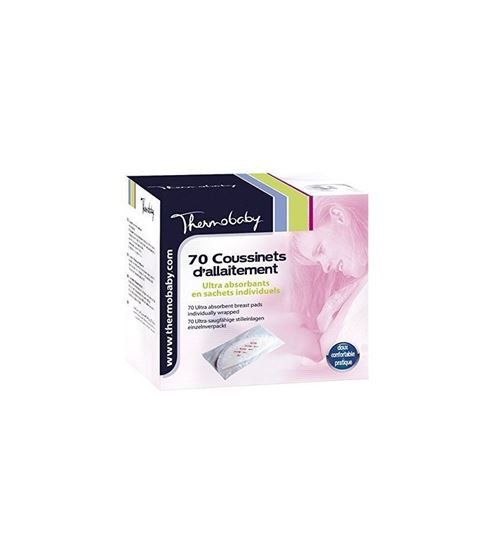 THERMOBABY-70 coussinnets d'allaitement
