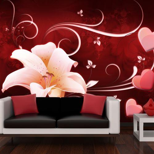 papier peint - love message - artgeist - 250x193