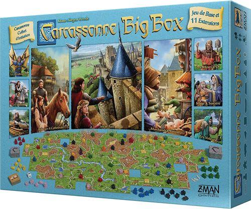 Jeu de stratégie Asmodée Carcassonne Big Box