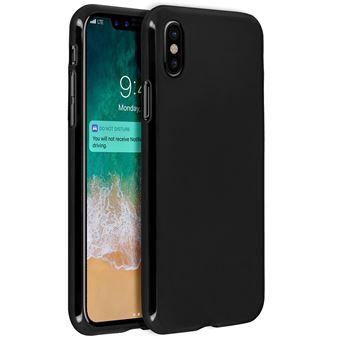 coque iphone xr silicone noir mat