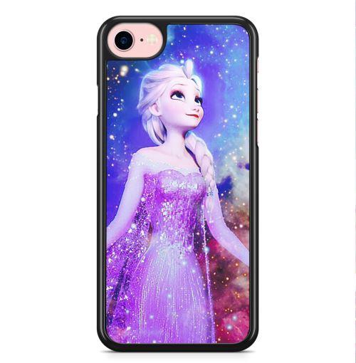 Coque iPhone 7 et iPhone 8 Elsa La Reine des Neiges Frozen Disney
