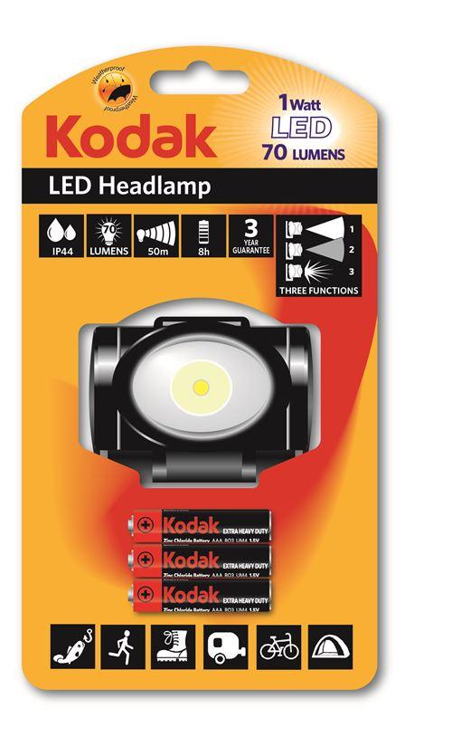 KODAK - Lampe Frontale 70 LED