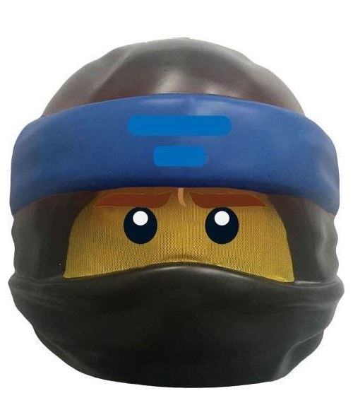 Déguisement ninjago movie - jay - masque lego 23684
