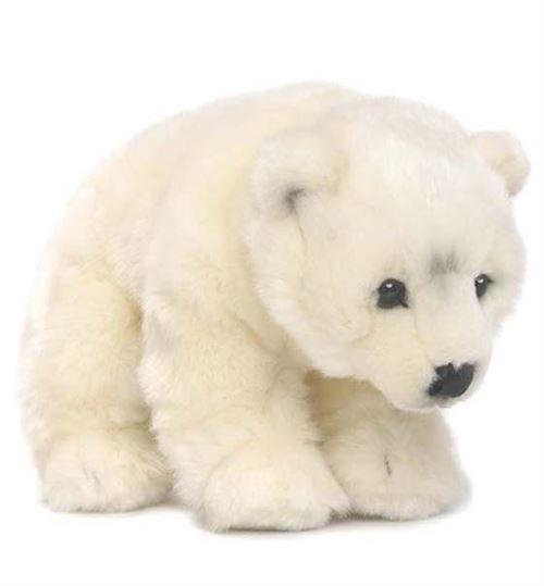Animal en peluche Wwf ours polaire 23 cm