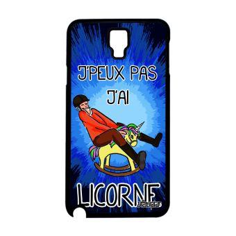 coque samsung galaxie note 3 lite licorne