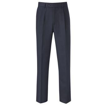 cute multiple colors official shop Skopes - Pantalon de costume à pinces - Homme (Taille 107 cm x Long) (Bleu  marine) - UTPC2185
