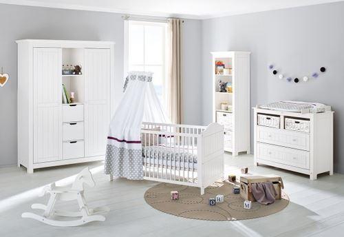 Pinolino Chambre de bébé Nina 3 pièces