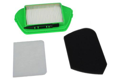 Kit filtres COMPACTEO ERGO CYCLONIC Aspirateur ZR005501 ROWENTA, MOULINEX, TEFAL - 220565