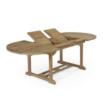 Cm Ovale Véone Table Extensible Teck Ecograde En 160200240x100 8kPnNw0OX