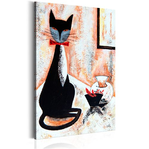 Tableau - The True Gentleman - Décoration, image, art | Animaux | Chats |
