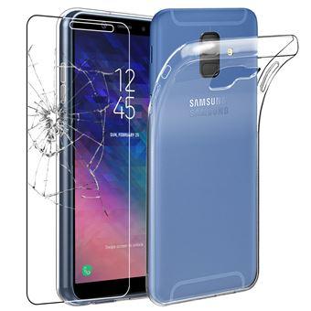 ebestStar - Coque Samsung Galaxy A6+ 2018 SM-A605F A6 PLUS Etui Housse  Silicone TPU Souple Anti-Choc ULTRA FINE INVISIBLE, Transparent + Film  protection ... f3679f987915