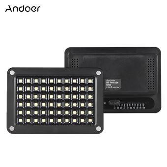 Batterie Réglable Lumière Lithium Mini S9560 Température Vidéo Lampe Couleur Luminosité Led 955500k Andoer 60pcs De Tableau 4AjRc5LS3q