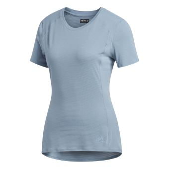 Supernova Femme Tee shirt Running Noir Adidas