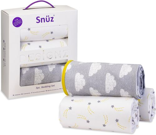 Snuz Designz Kit de Literie (3 Pieces) - Cloud Nine