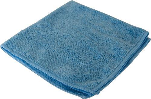Protecton tissu microfibre 40 x 40 cm microfibre bleue