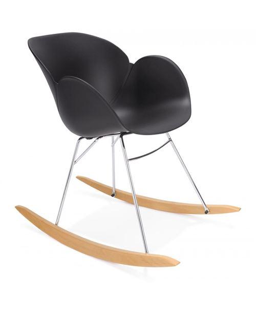 Fauteuil design KNEBEL BLACK 59x99x79 cm