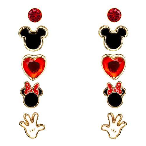 Disney Mickey et Minnie Mouse 5 Piece boucles d'oreilles