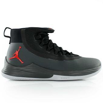 Chaussure de Basketball Jordan Ultra Fly 2 Noir logo rouge et noir pour homme Pointure - 41 - Chaussures et chaussons de sport - Achat & prix