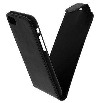 Etui Etui à Clapet vertical iPhone SE 2020/7/8 - Protection Noir