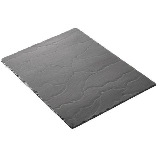 Plateaux rectangulaires basalt 400 x 300mm revol