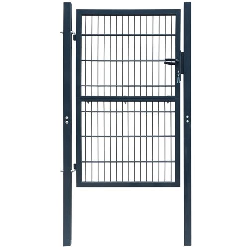 Portillon Acier 103x250 cm Anthracite