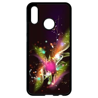 coque huawei p20 lite feuille
