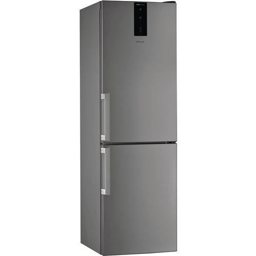 réfrigérateur combiné 60cm 338l a++ nofrost inox - w7821ooxh