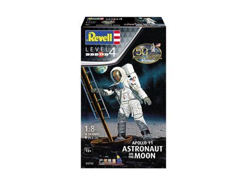 navette spatiale a construire - vaisseau a construire maquette espace apollo 11 astronaute sur la lune 03702 coffret cadeau