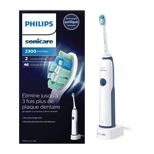 Philips Sonicare HX3212/65 Brosse à Dents électrique DailyClean 2300 Plaque Defense