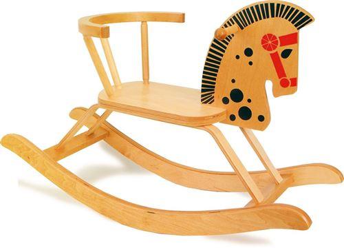 Cheval à bascule en bois - 9402