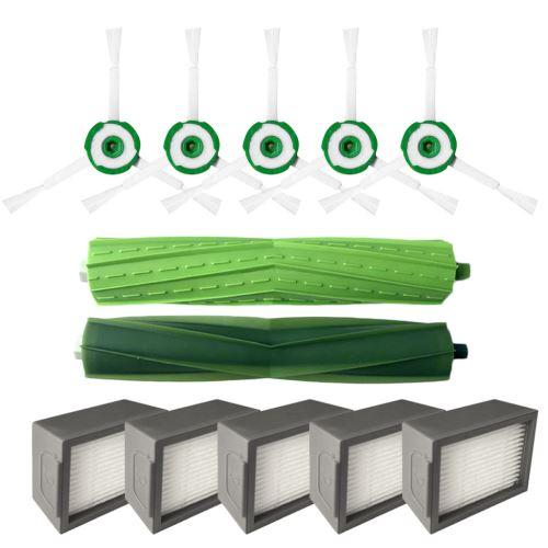 Side Brosse et filtres Hepa et pour Brosse Core i7 iRobot Roomba + Core i7 / Core i7 plus E5 E6 E7