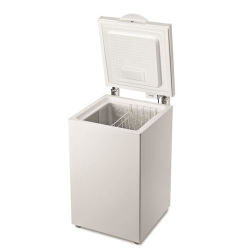 Indesit OS 1A 140 H - Congélateur coffre - pose libre - largeur : 57.3 cm - profondeur : 64.2 cm - hauteur : 86.5 cm - 133 litres - classe A+ - blanc