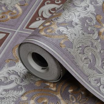 Papier Peint Mode Vintage Palais Brique Marron 5.3m2 - Achat & prix ...