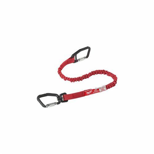 Milwaukee - Lanière de sécurité quick connect charge 4.5 kg couleur rouge