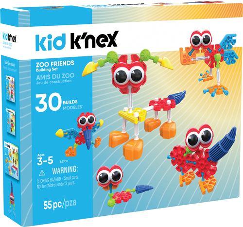 Ensemble de construction K'nex Kid Zoo Friends