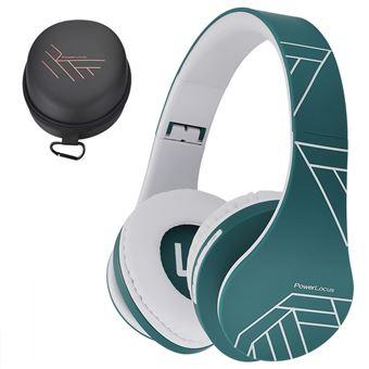 Powerlocus Casque Audio Bluetooth Casque Sans Fil Ecouteurs Stéréo