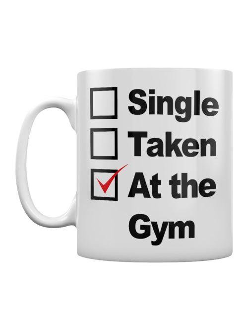 Tasse At The Gym blanc