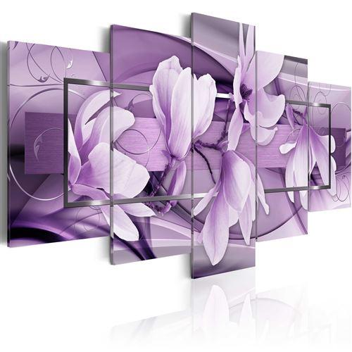 Tableau - purple wave - artgeist - 200x100