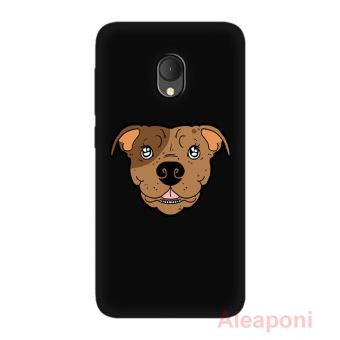 coque iphone 4 silicone chien