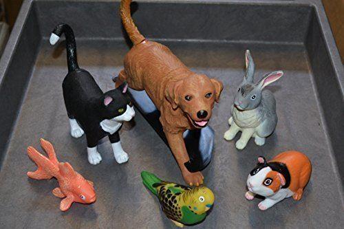 Jumbo Playful Pets for all age kids - Set of 6