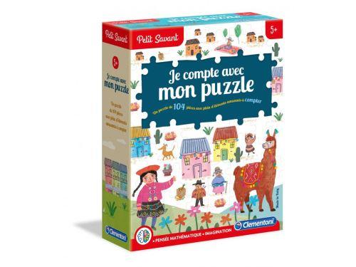 Clementoni - Je compte avec mon puzzle - 5 ans et +