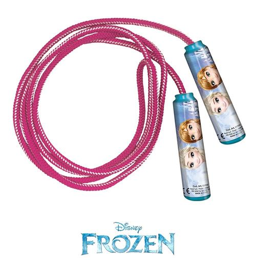 La Reine des Neiges corde à sauter 220 cm